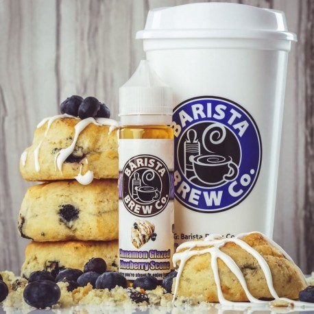 Barista Brew Co. - Cinnamon Glazed Blueberry Scone