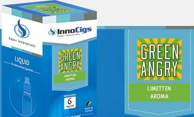 InnoCigs E-Liquids - 10ml - green angry - Limette