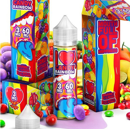 MAD HATTER JUICE - 50ml- I love Candy Rainbow