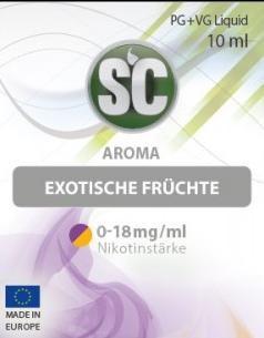 SC E-Liquids - 10ml - Exotische Früchte