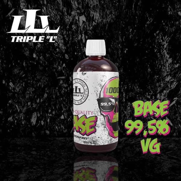 Triple L - Base - VG Premium Base - 1000ml 0mg