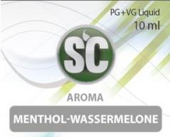 SC E-Liquids - 10ml - Menthol Wassermelone