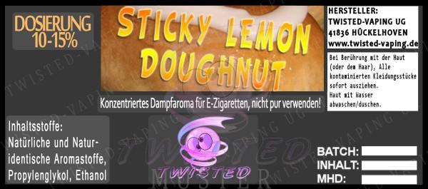 Sticky Lemon Doughnut