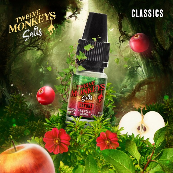 Twelve Monkeys Nikotinsalz - Hakuna 10ml 20mg