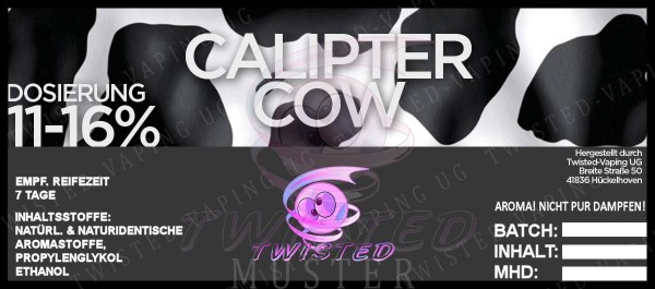 Calipter Cow