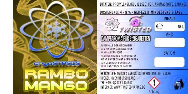 Twisted Vaping Aroma - 10ml - Cryostasis Rambo Mango