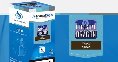 InnoCigs E-Liquids - 10ml - Celestial Dragon Tabak