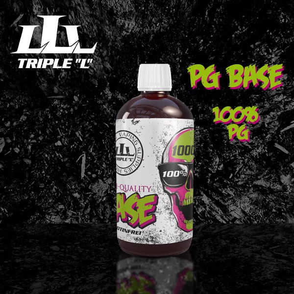Triple L - Base - PG Premium Base - 1000ml 0mg