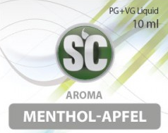 SC E-Liquids - 10ml - Menthol Apfel