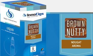 InnoCigs E-Liquids - 10ml - brown nutty - Nougat