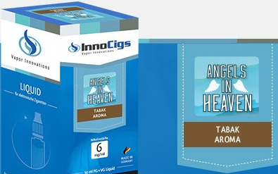 InnoCigs E-Liquids - 10ml - Angel of Heaven Tabak