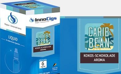 InnoCigs E-Liquids - 10ml - carib bean - Kokos Schokolade