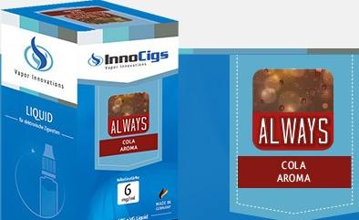 InnoCigs E-Liquids - 10ml - always - Cola