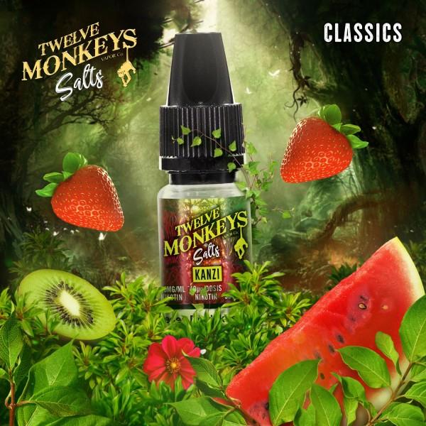 Twelve Monkeys Nikotinsalz - Kanzi 10ml 20mg