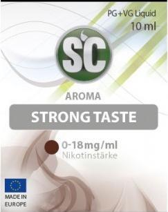 SC E-Liquids - 10ml - Strong Taste Tabak