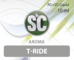 SC E-Liquids - 10ml - T-Ride Popcorn