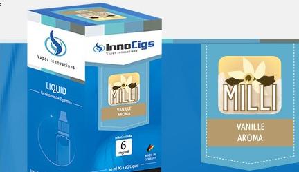InnoCigs E-Liquids - 10ml - milli vanille