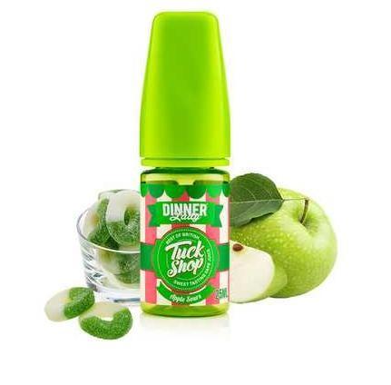 Vape Dinner Lady -Tuck Shop - 25ml - Apple Sours